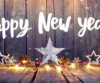 A Happy and Healthy New Year to All!