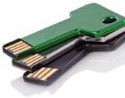 Key Design USB stick isolated on white background