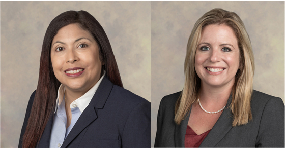 Our New Senior Tax Manager Mia Ramirez-Powell & Tax Manager Amanda Grantham